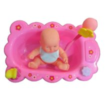Bathtub with Doll